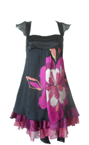 bebe flower dress-Size XS